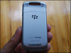 BlackBerry Verizon Pearl Flip 8230 Back View