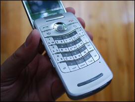 BlackBerry Verizon Pearl Flip 8230 Keypad Front