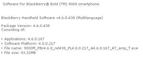 Bold Software Update