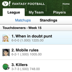Y! Fantasy Football 2010 BlackBerry