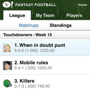 Y! Fantasy Football 2010 BlackBerry