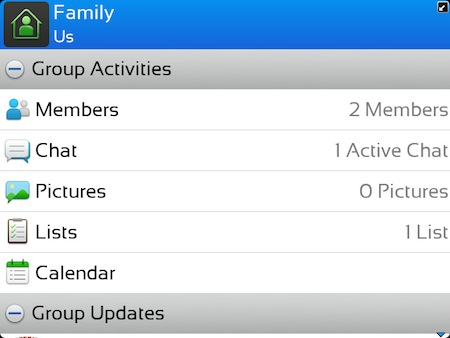 BBM Group Notifications