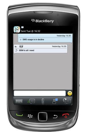 BBM BlackBerry Torch