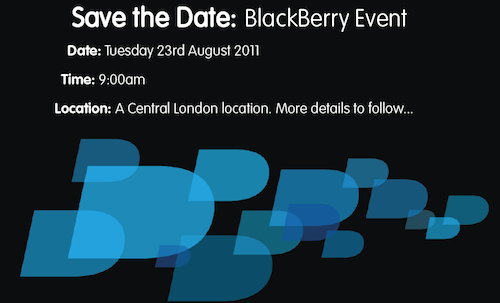 BlackBerry UK Press Event