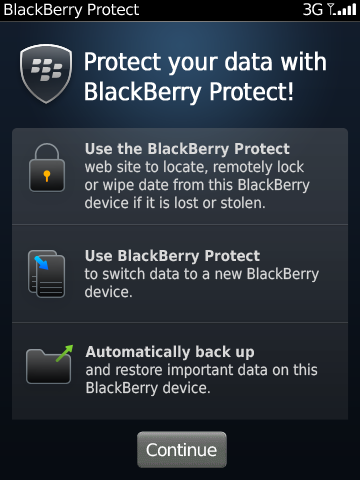 BlackBerry Protect is a great addition to your Smartphone.