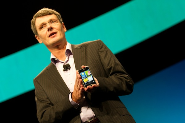 BlackBerry CEO, Thorsten Heins