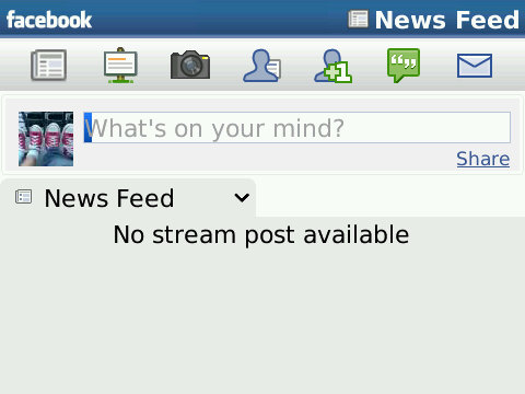News feed not updating facebook