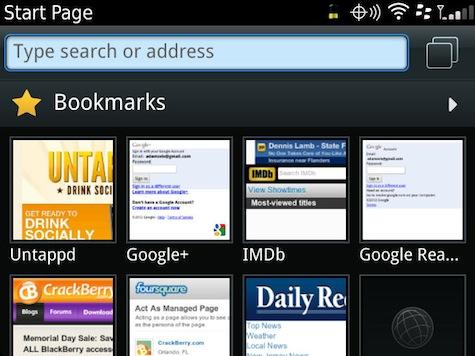 Browser Thumbnail View