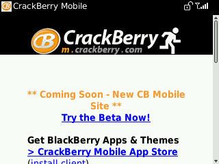 BlackBerry Curve 8530 Browser