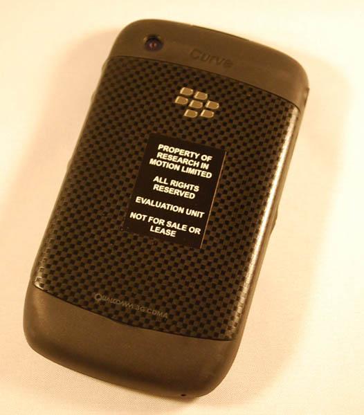 BlackBerry Curve 8530 Back