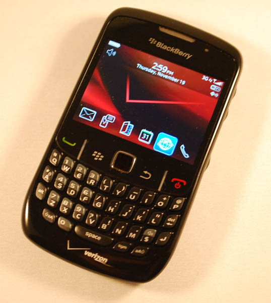 BlackBerry Curve 8530 Front
