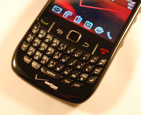BlackBerry Curve 8530 Keyboard