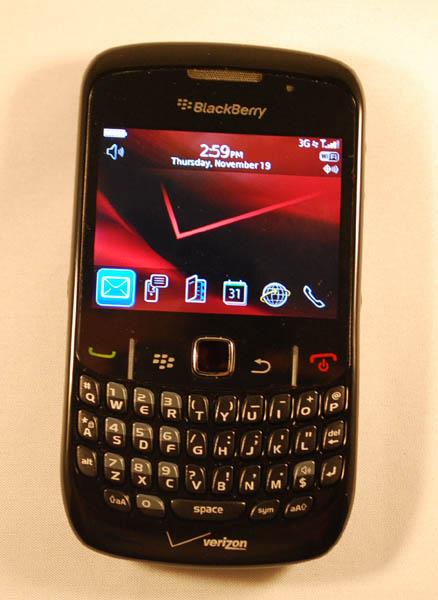 BlackBerry Curve 8530 Front