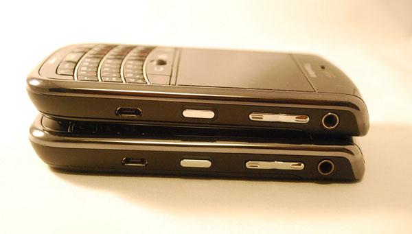 Verizon BlackBerry Bold 9650 & Tour 9630 Right Sides