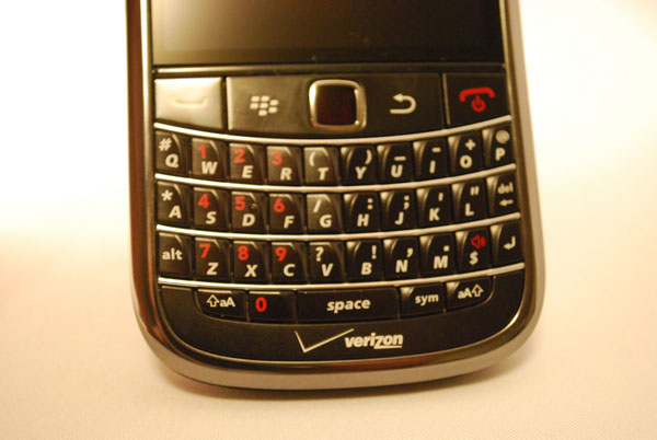 Verizon BlackBerry Bold 9650