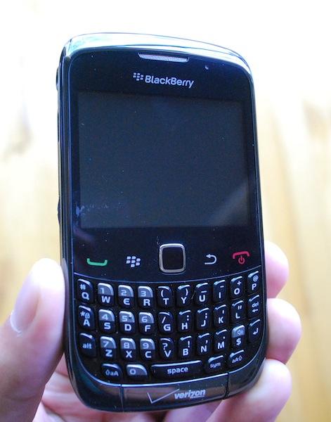 Verizon BlackBerry Curve 3G
