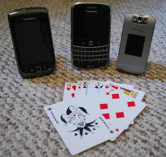 BlackBerry Drinking Games