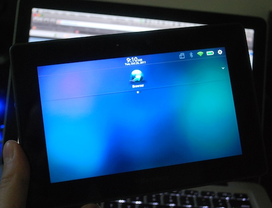 BlackBerry PlayBook 2.0 Wipe