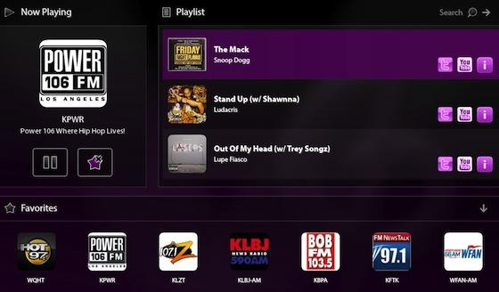 Nobex Radio BlackBerry PlayBook