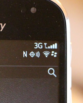 NFC BlackBerry