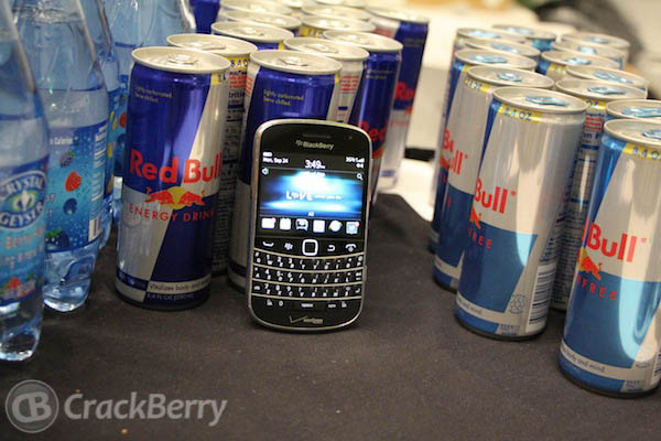 BlackBerry Red Bull