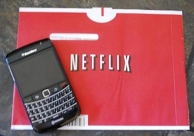 KFlicks Netflix Manager BlackBerry