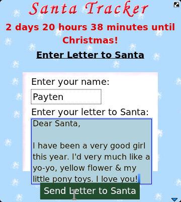 Santa Tracker for BlackBerry