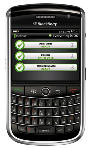 Lookout for BlackBerry