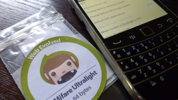 NFC Tags BlackBerry Bold 9900