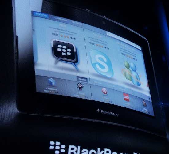 BlackBerry App World PlayBook
