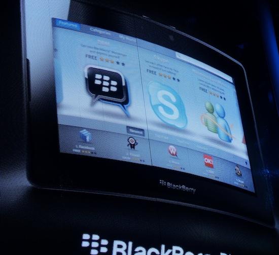 BlackBerry App World PlayBook Showing Skype