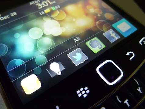 Adam's Most Used BlackBerry Apps