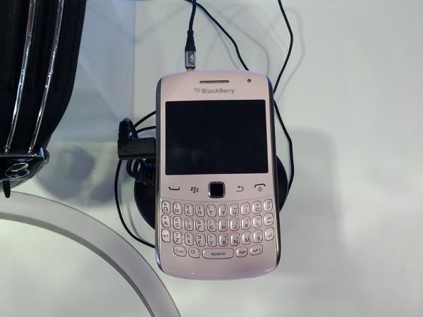 Ballet Pink BlackBerry Curve 9360