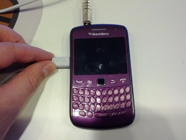 Royal Purple BlackBerry Curve 9360