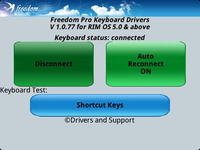 Freedom Pro Bluetooth Keyboard
