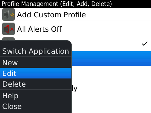 BlackBerry Profiles