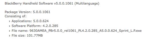 Sprint OS 5.0.0.624