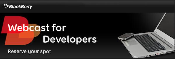 Webcast for Developers