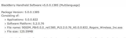 Bold OS 5.0.0.822