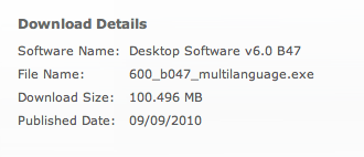 BlackBerry Desktop Manager 6.0.0.47