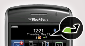 Jawbone Battery Meter BlackBerry
