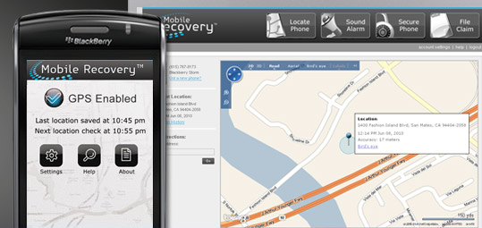 Verizon Mobile Recovery for BlackBerry
