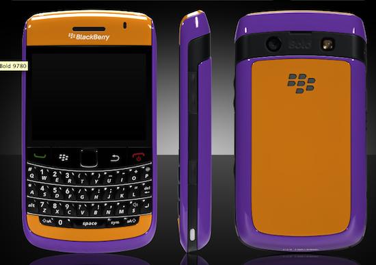Colorware BlackBerry Bold 9780