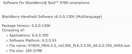 Bold 9780 OS 6.0.0.369