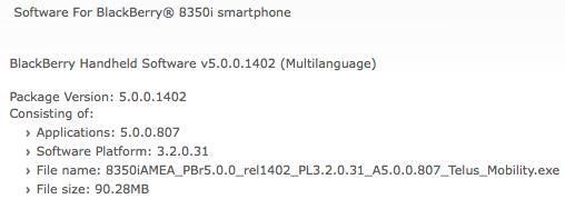 Telus 5.0.0.807