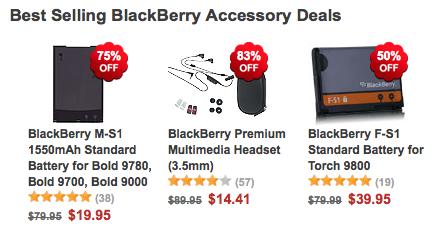 ShopCrackBerry On Sale