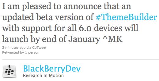 BlackBerry Theme Builder OS 6