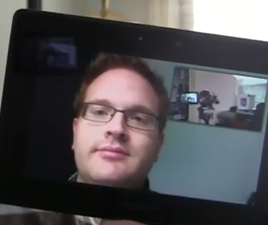 PlayBook Video Chat