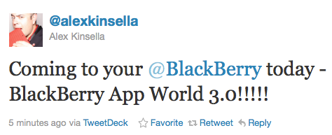 BlackBerry App World 3.0