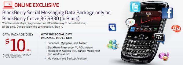 Verizon Social Media Bundle